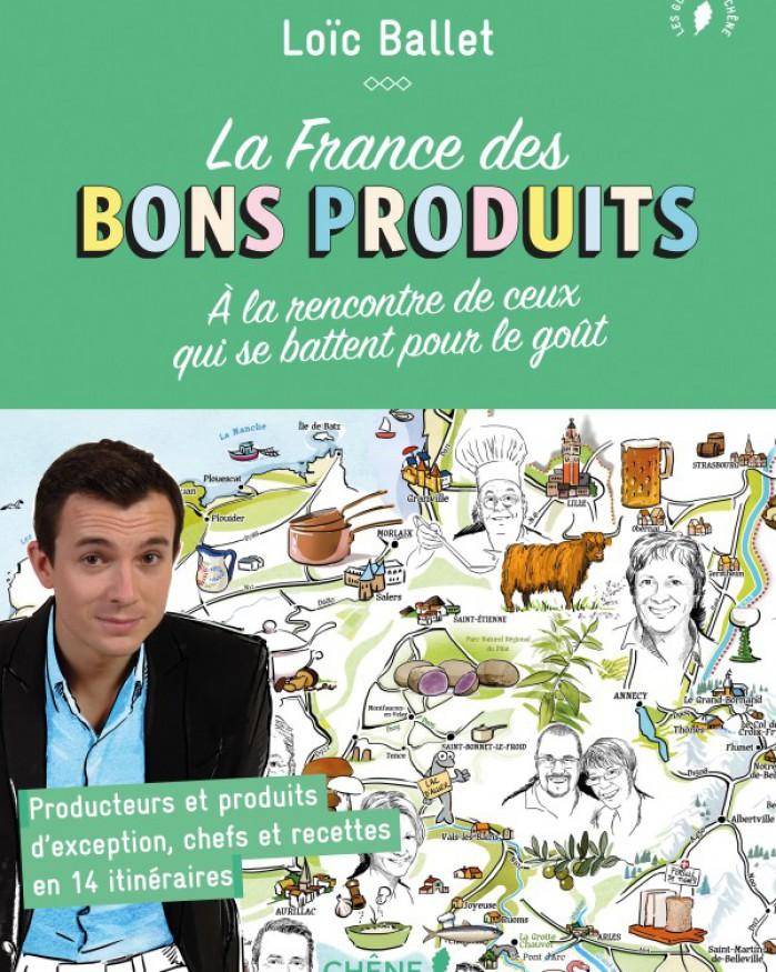Livre - La France des bons produits