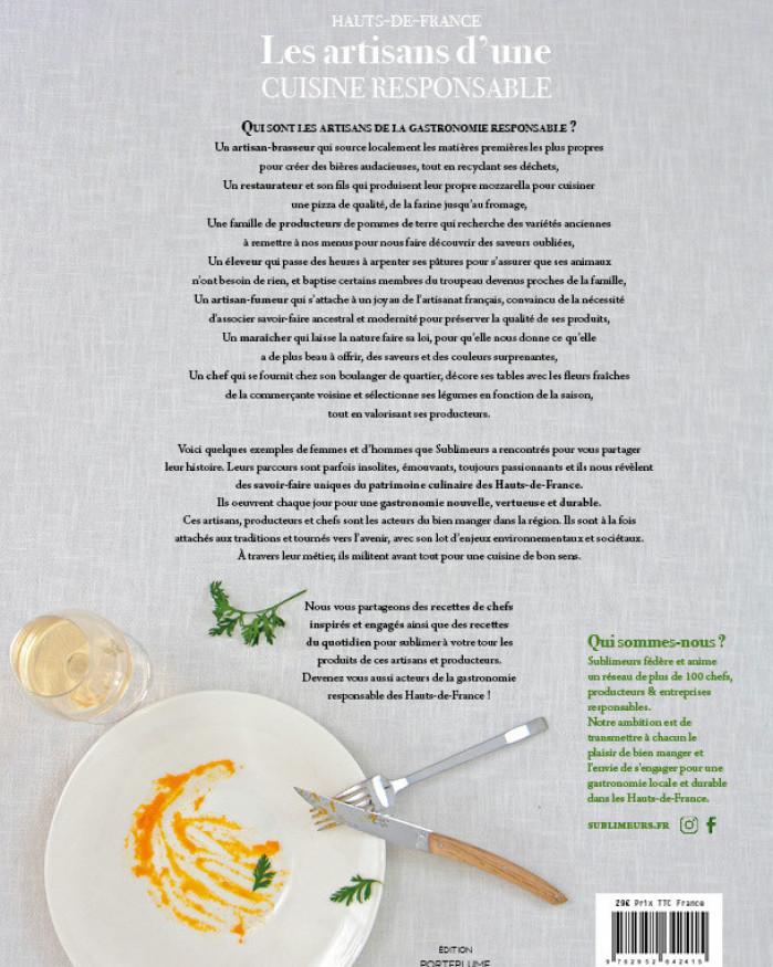 Livre - Les Artisans d'une Cuisine Responsable