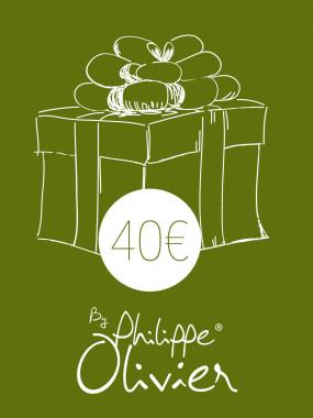 Carte Cadeau à 40€